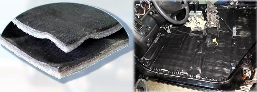 Динамическая шумоизоляция автомобиля
